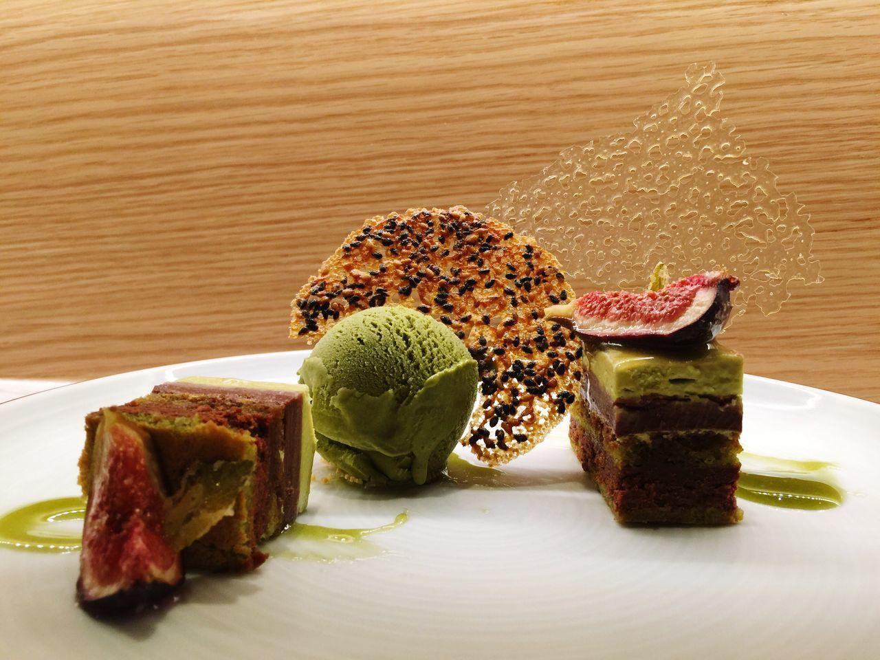 Dessert Sweet Love No Stress Greentea Icecream Fig Asiandessert Art And Dessert