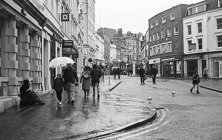 35mm Film Film Photography Black & White Yashica Electro 35 GT Bournemouth