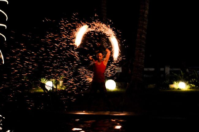 Firedance Firedancer Vacations Summer Getting Away From It All Non-urban Scene Young Adult Baler Baler Aurora Costa Pacifica Awesome Tradition Shutter Speed
