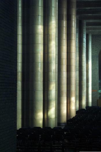 Architecture Basiliek Brussel Curtain Day Full Frame Home Interior Horizontal Illuminated Indoors  Koekelberg Basilica No People