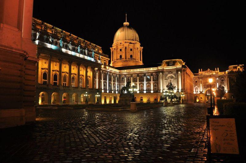 At Budapest, Hungary #architecture #budapest #europe #hungary #lights #Night #photography #summer #travel