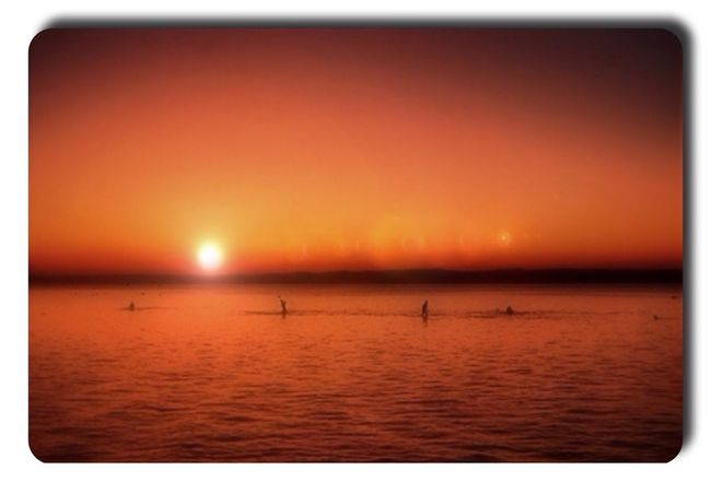 Reflection Sea Water Sun Sunset Nature Sky Landscape Genginsapgan Gang_family Ee_daily