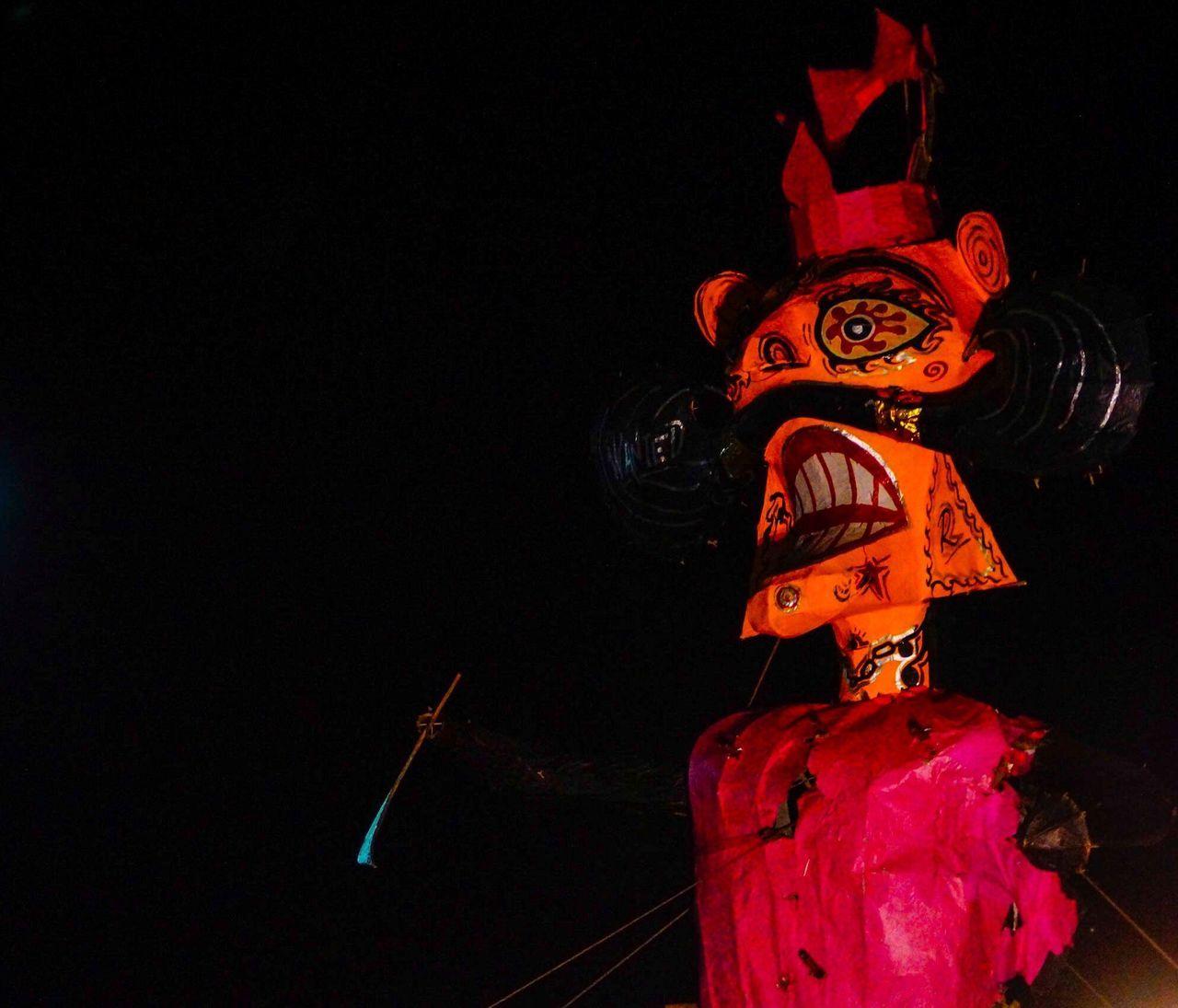 night, art and craft, illuminated, celebration, no people, sculpture, indoors, black background, close-up, astronomy