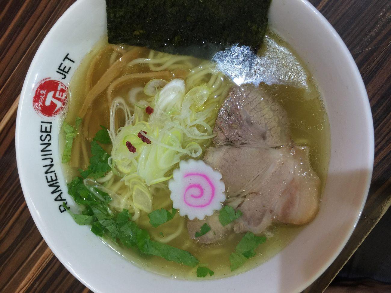 ラーメン人生jet二日目は塩 Ramen ラーメン 福島区 Enjoy Eating 大阪市 ラ女子 ラヲタ