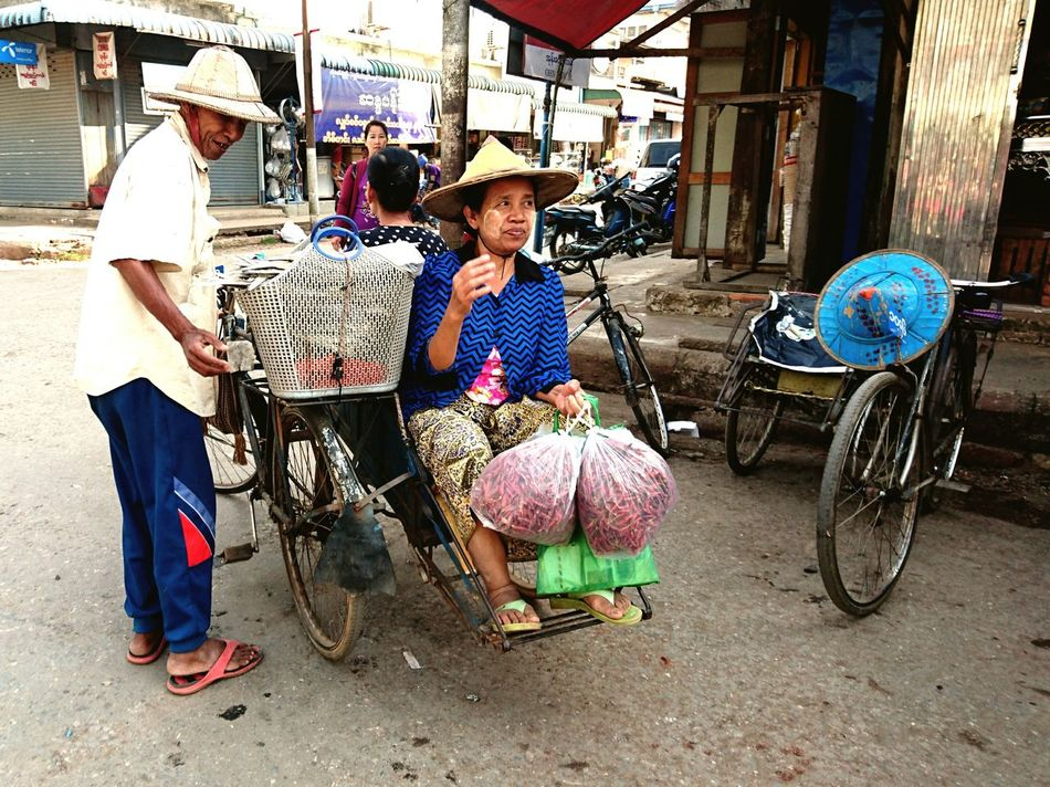 Interesting Mean Of Transportation. Silvia In Myanmar We Live To Explore Discoverying Cultures Discovering Myanmar Transportation On The Way
