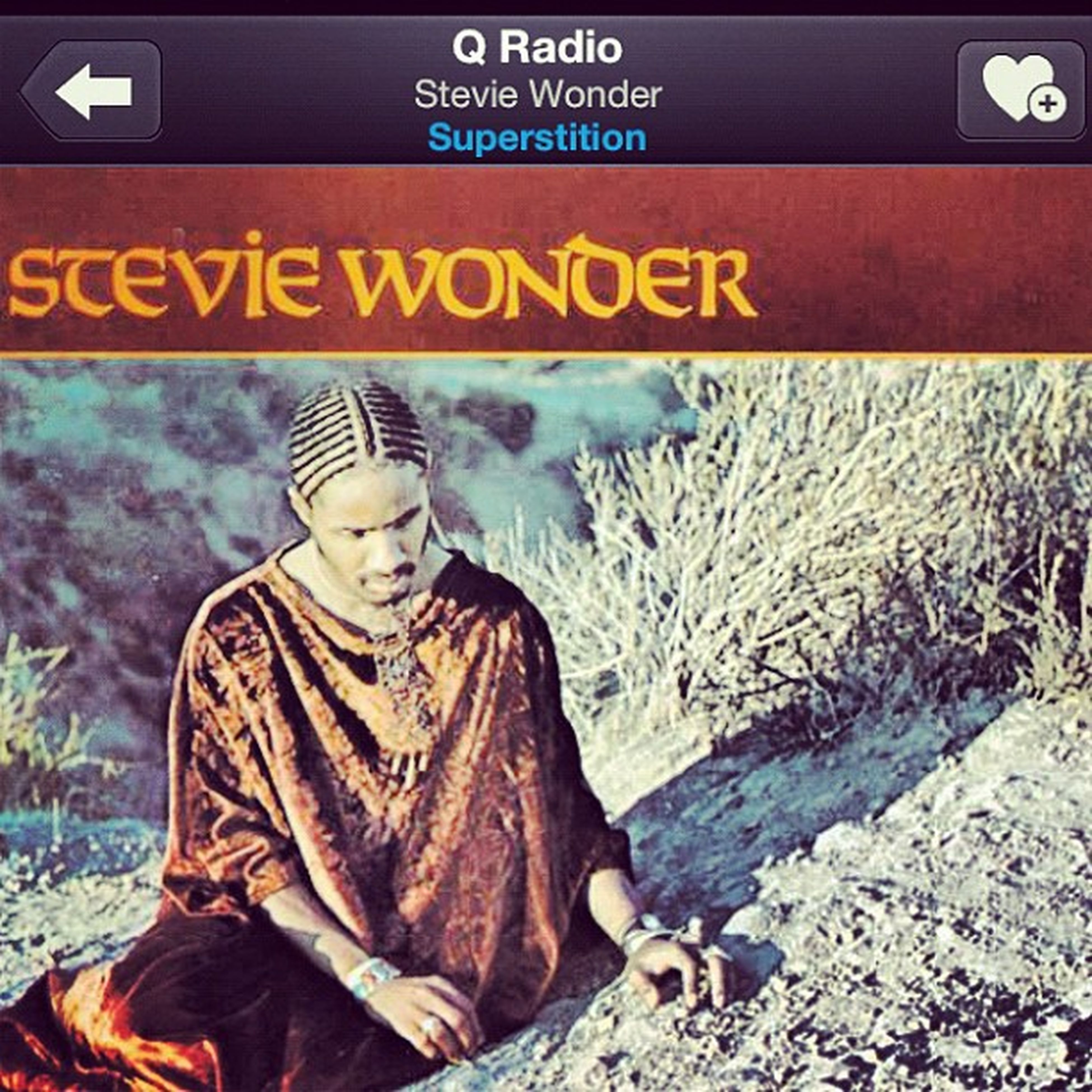 Superstition  Music Qradio Qthemusic iphone iphone4s instagram what a tune awesome