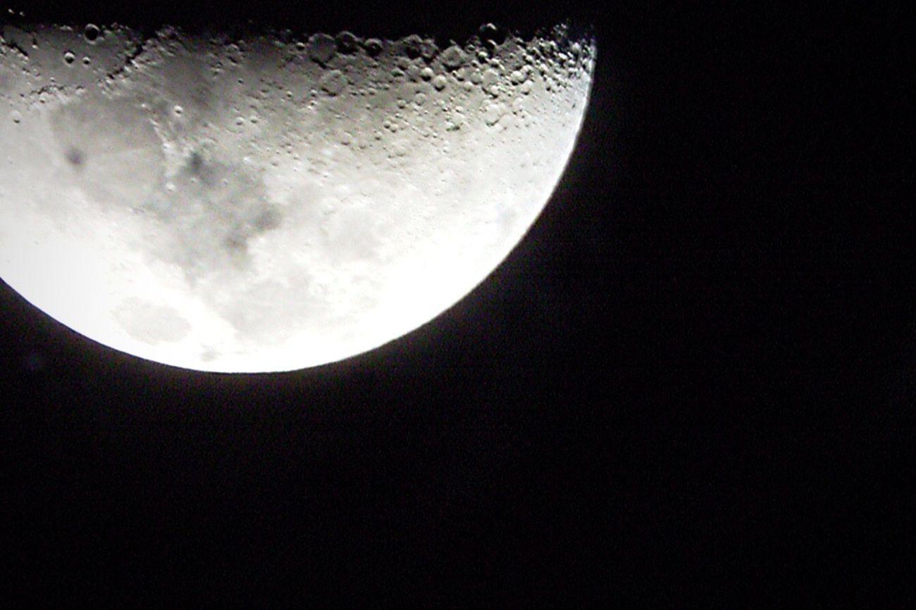 Astronomical Telescope Moon Moonlight Sky Stargazing Hawaii Clear Sky Clean Air Subaru Showcase: February