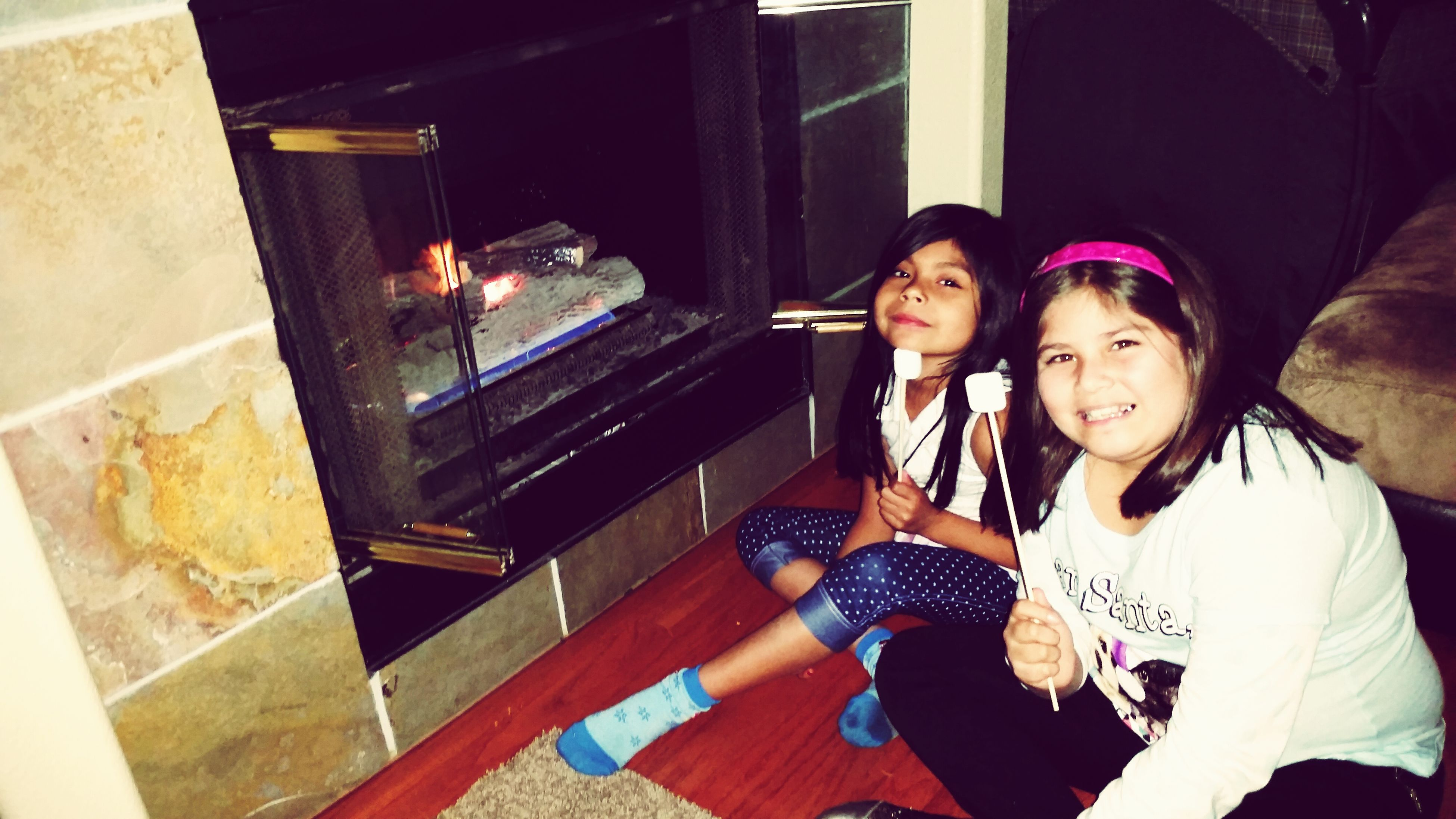 Making S'mores! HappyNewYear!