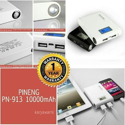 POWERBANK PINENG 10000mAh RM 130 INC POSTAGE Free gift inc Sayajual Visitmyig Visitig Iklanig powerbank pineng WA 0137471749