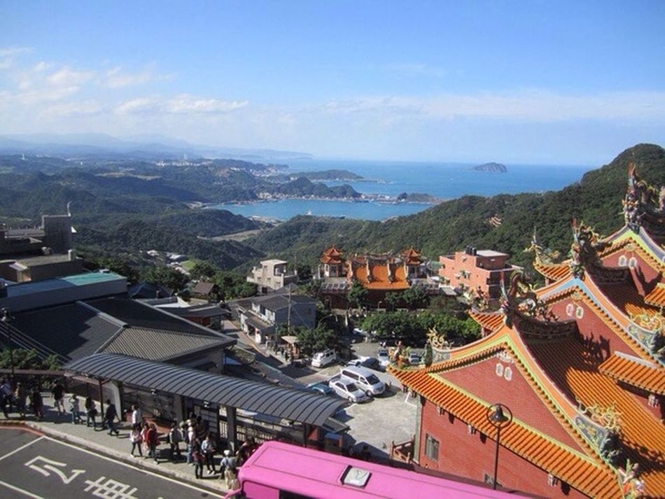 Jioufen town near Taipei city!