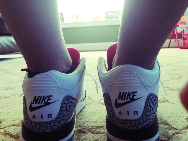 WDYWT Nike Cement 3's Shoes