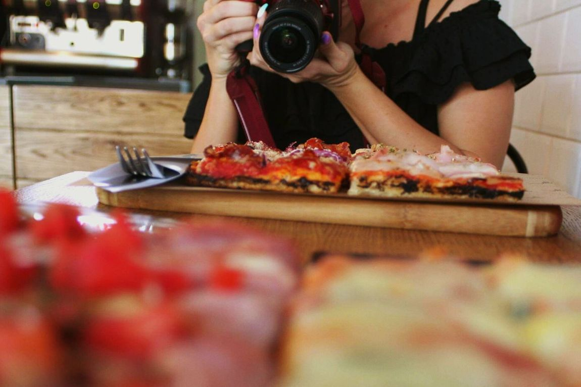 Ready-to-eat Day Preparation  Selective Focus Food And Drink Food SLICE Plate Healthy Eating Pizza Time Pizzalover🍕🍕🍕 Pizza🍕 Pizzaislife Pizzatime! Pizzaexpress Pizzaporn Pizzagram