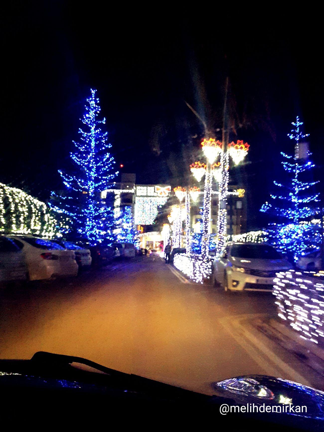 Christmas Decoration Kıbrıs Girne/ Kıbrıs Girne. TRNC. CratosPremiumHotelandCasino Yılbaşı Ağacı Yılbaşı Süsü
