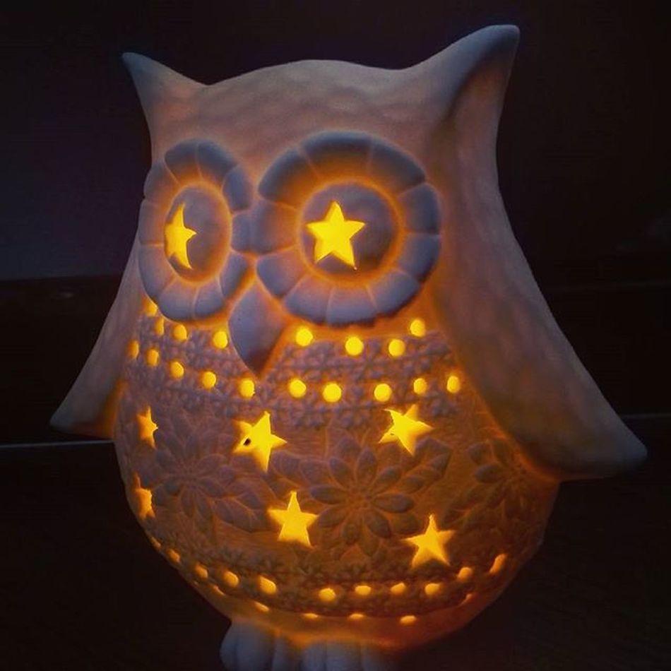В ТЦ сегодня всеобщее осовение ^^ Светильник Сова . Материал: керамика The Light Owl . Ceramic