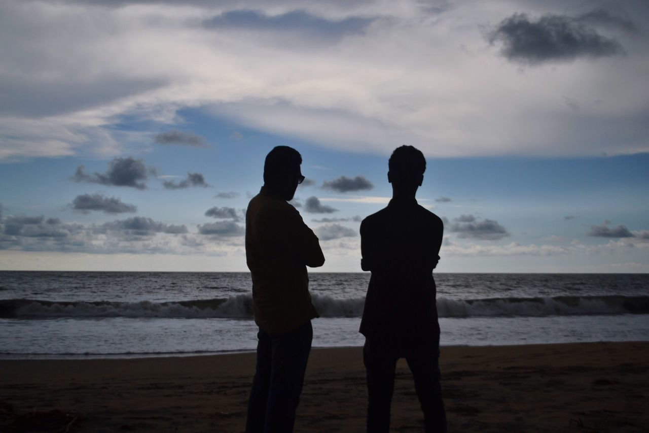 Enjoying The Sun Periyambalam Beach Beach Photography Sea And Sky Beautiful Sky Sea Being A Beach Bum