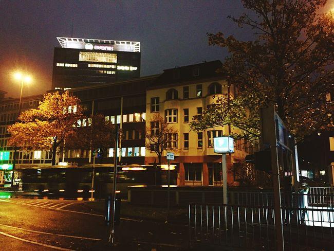 Eon City Life Nightphotography Skyline