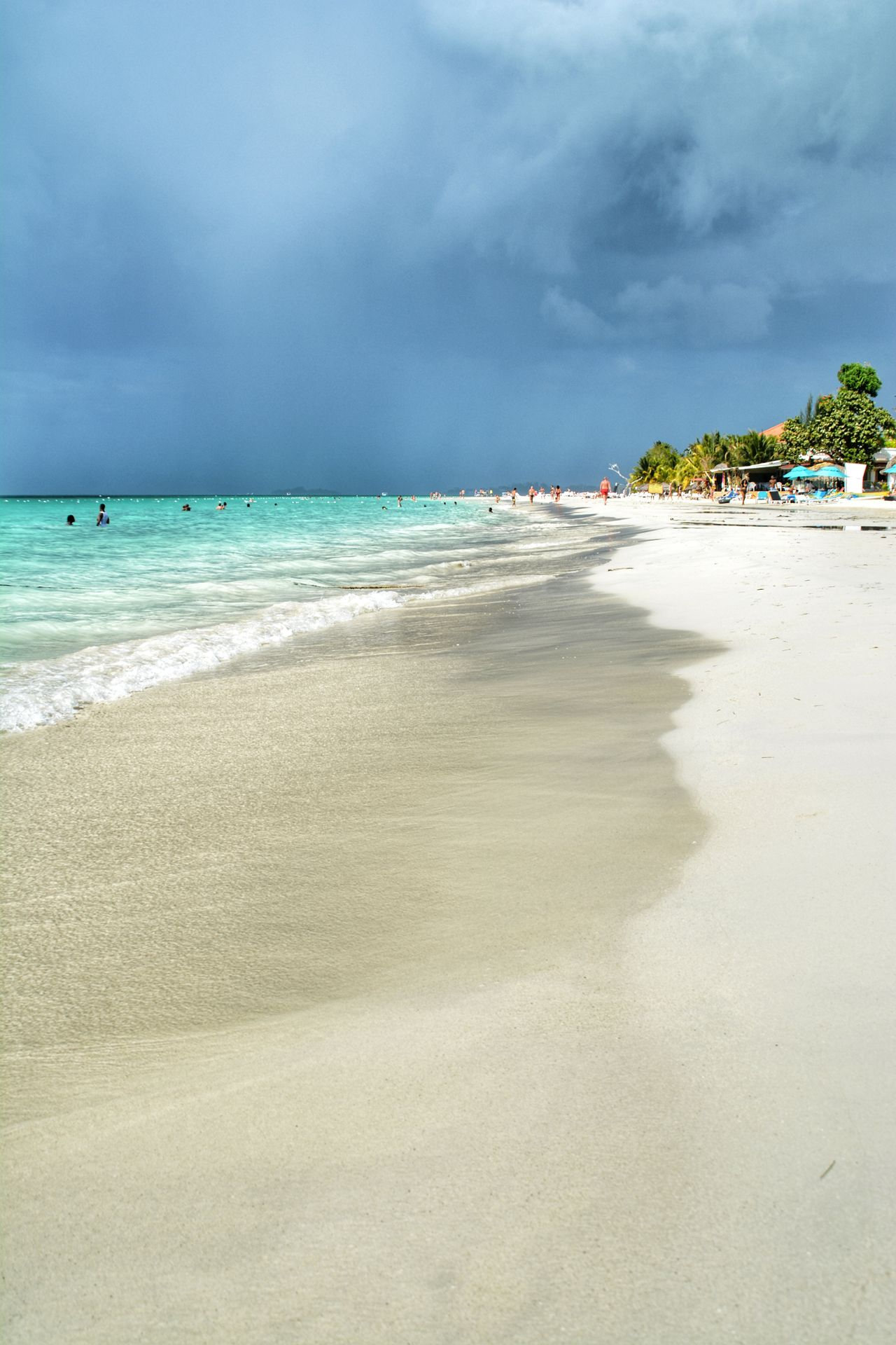 Clearwater Ocean Travel Destinations Vacations Water Beachtime Day Sky Sea Cloud - Sky Sand Nature Sunlight Beauty In Nature Beach Dark Horizon