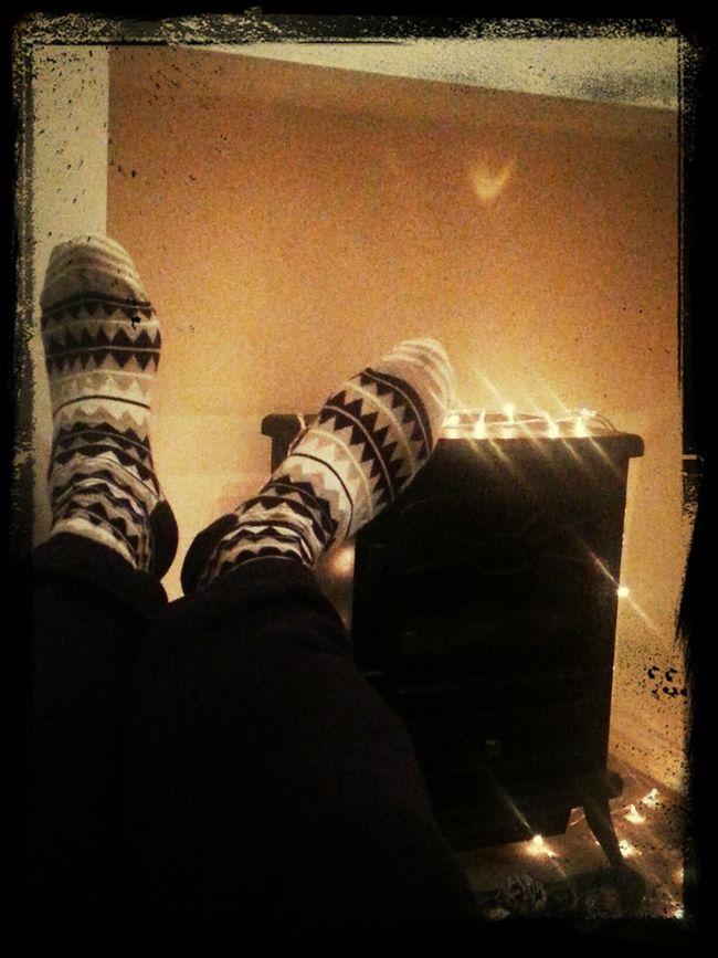I love my Xmas Socks :)