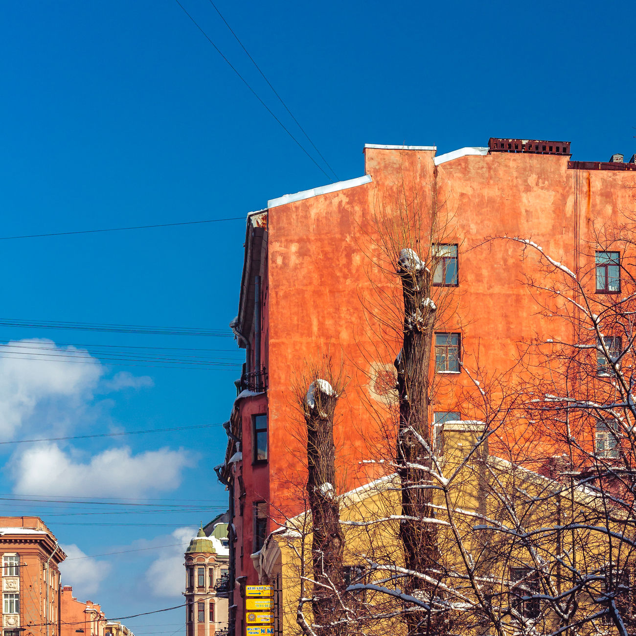 Beautiful stock photos of russia,  Architecture,  Bare Tree,  Blue,  Building Exterior