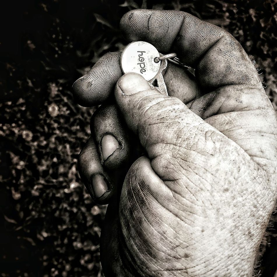 Human Hand Close-up Hope Simple Moments ILoveThisLife Photooftheday Journeyoflife Daddyshands Hope. Faith. Love. Brighter Days Inspirations Everywhere. Blackandwhite PhotographyPhoto Of The Day Blackandwhite Myjourney Working Hands Phot