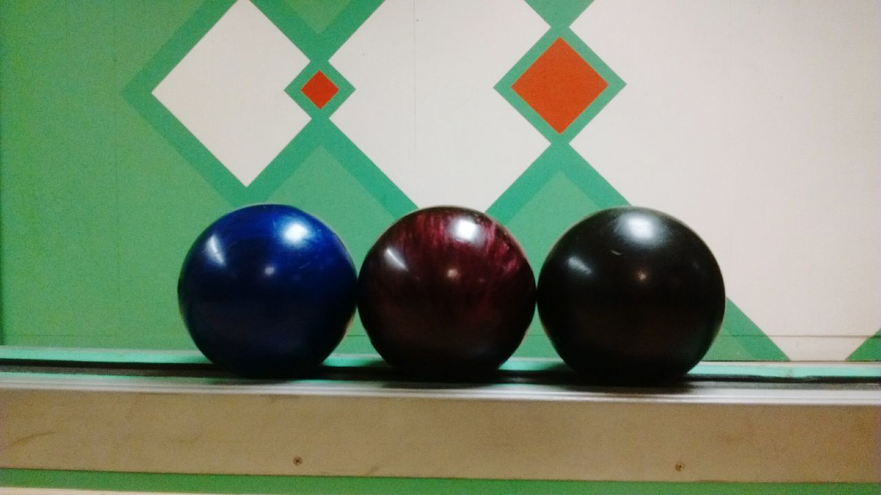 Bowling Balls Three In A Row Old Bowling Alley Nice Polished Balls Fun Polished The Week On Eyem