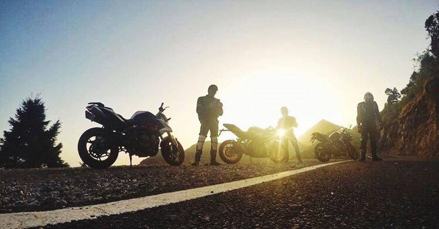 Motorcycle Riding Men Transportation Adventure Clear Sky Sport Sunlight Extreme Sports
