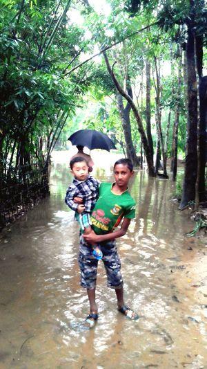 Flood in our village