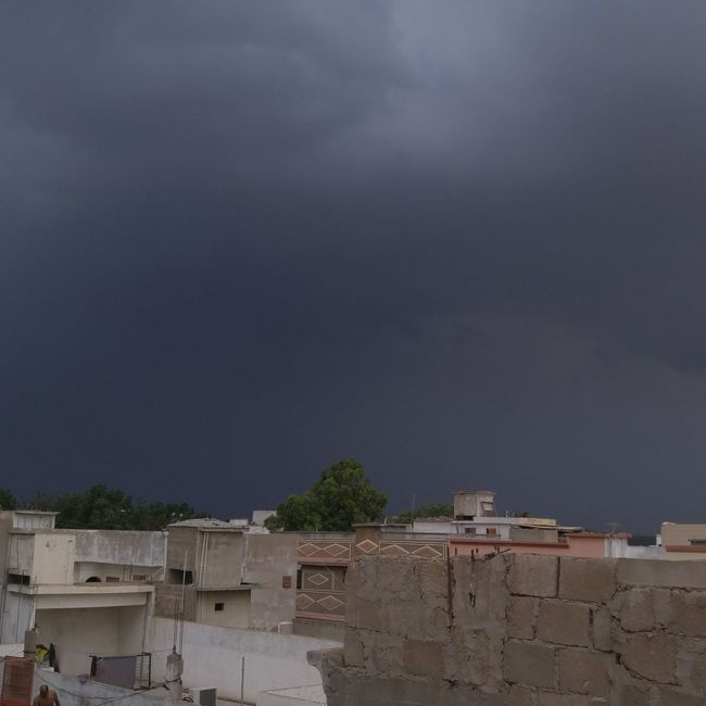 Rainy weather Karachi Clouds