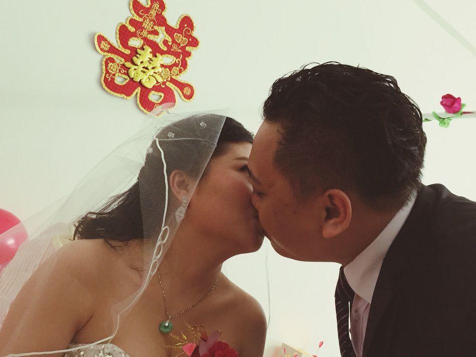 兄弟嘅大喜日子!祝福你哋~❤ Marry Wedding Haopy Wedding Kiss 囍