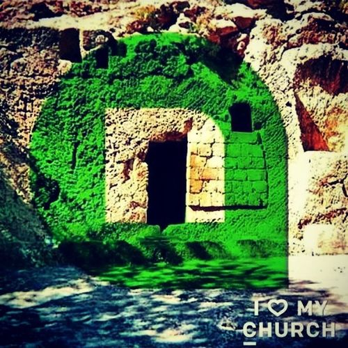 Hey guess what... He ain't in there!! EmptyTomb Newspring Ilovemychurch !!