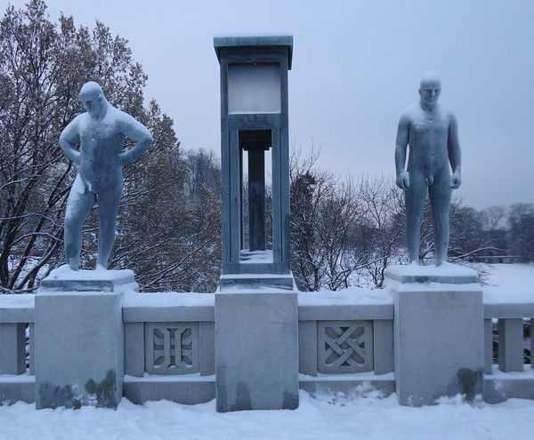 Norway Norway ✌ Norway🇳🇴 Oslo Oslo, Norway Scandinavia Architecture Cold Temperature Human Representation Oslo Norway Oslostreets Outdoors Sculpture Snow Statue Winter