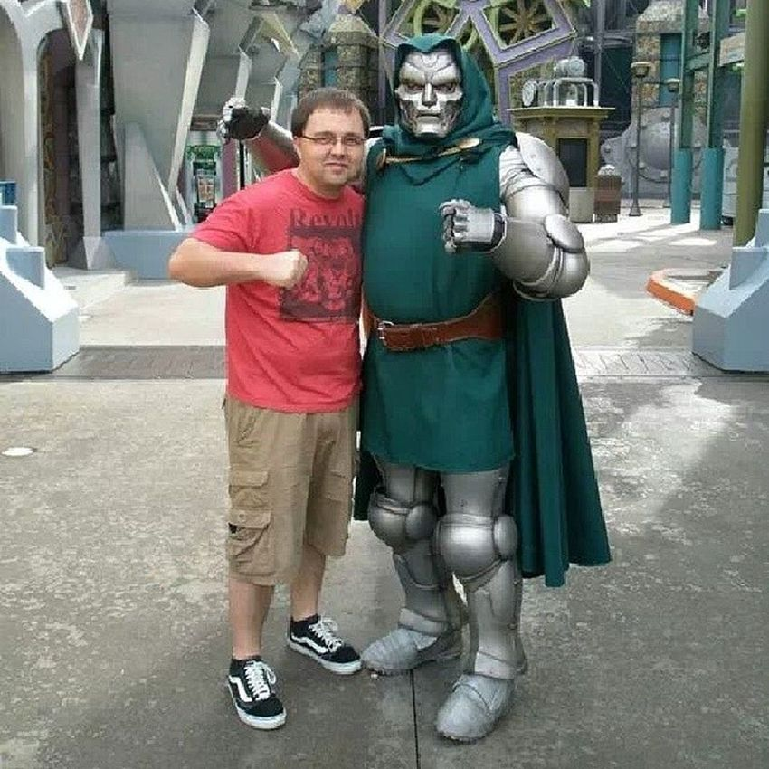 TBT  with Drdoom at universal