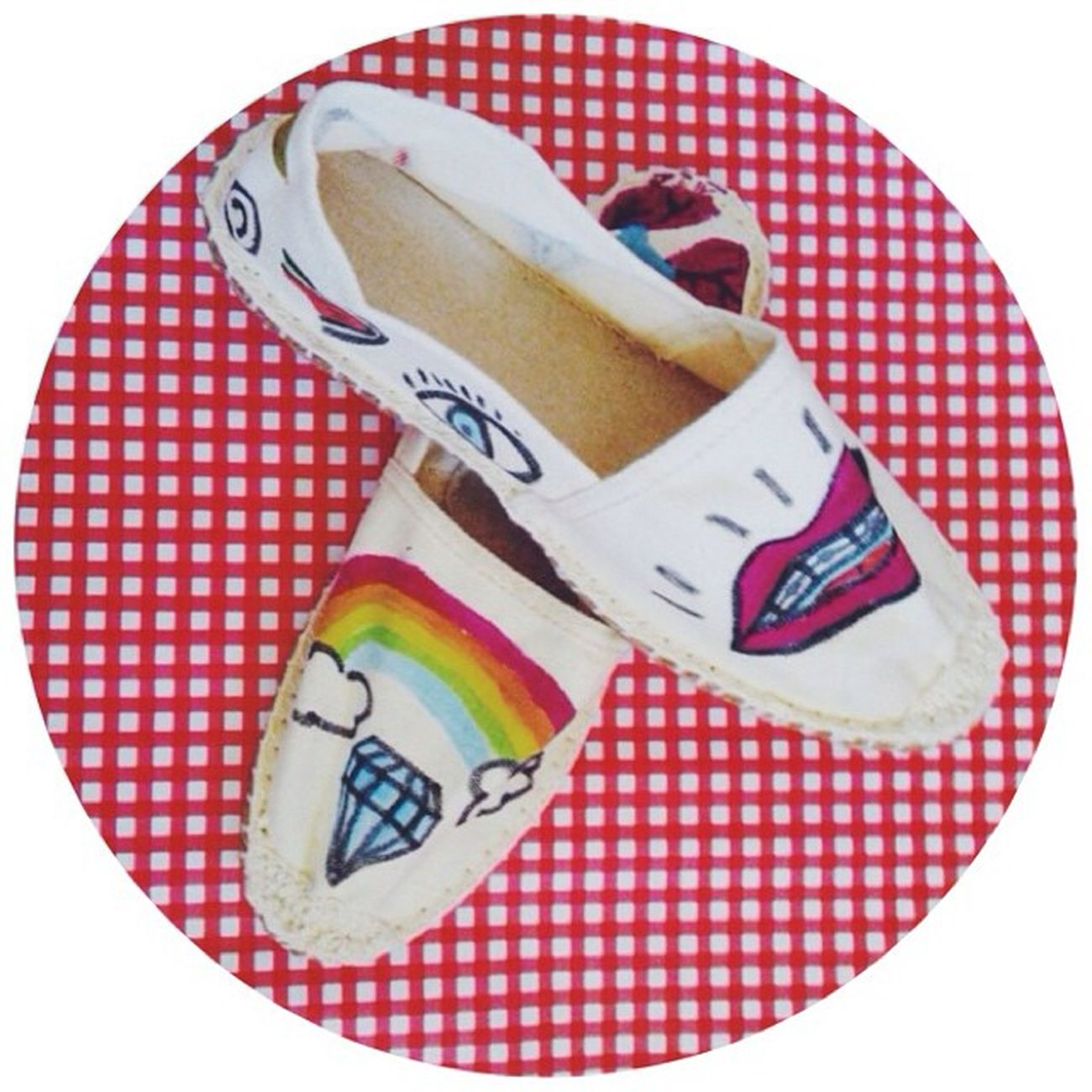 Pimp my Espadrillas @clorophillaart Espadrillas Clorophillaart Shoes Draw illustration depop
