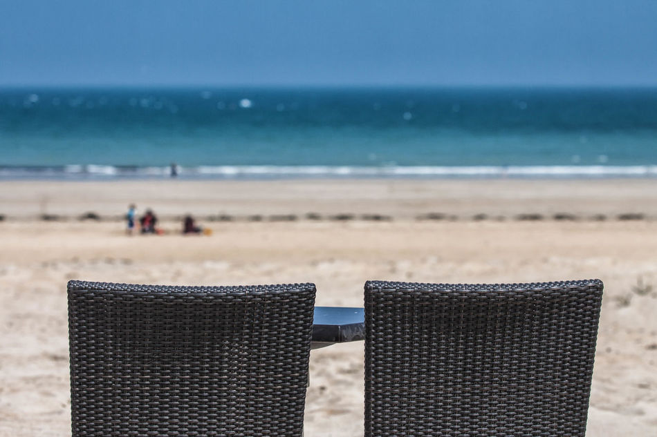 Beach Bretagne Bretagne France Bretagnetourisme Chair Day Horizon Over Water Nature Relax Relaxation Relaxing Time Saint Cast Le Guido Sand Sea Sky Two Water