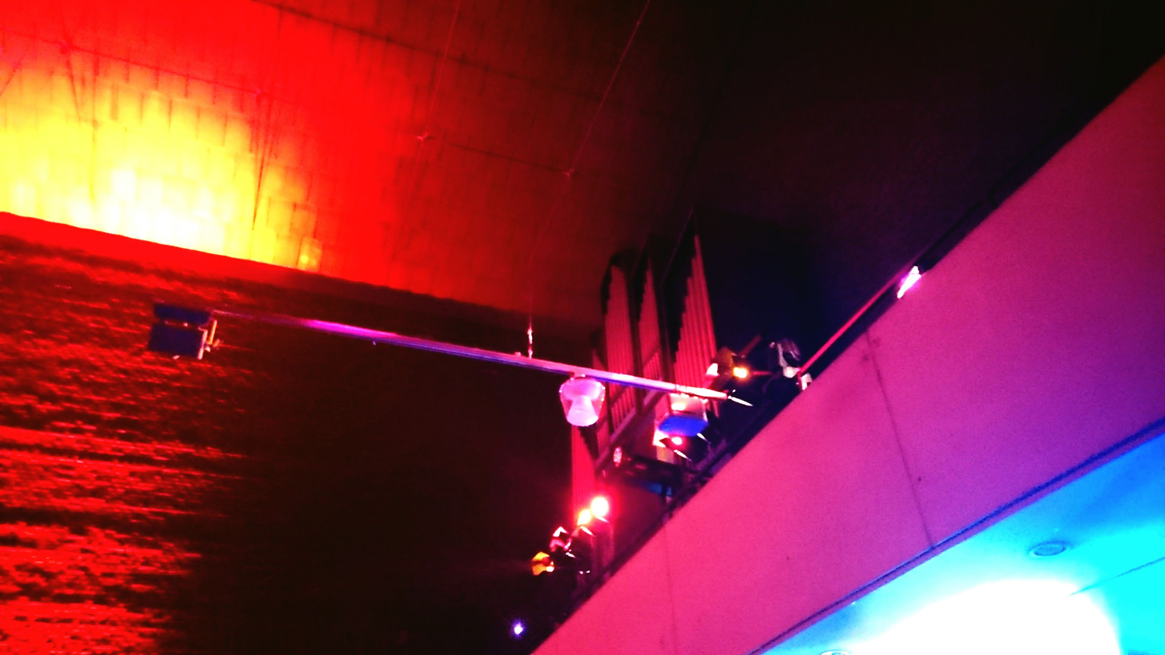 illuminated, lighting equipment, indoors, red, no people, arts culture and entertainment, close-up, day