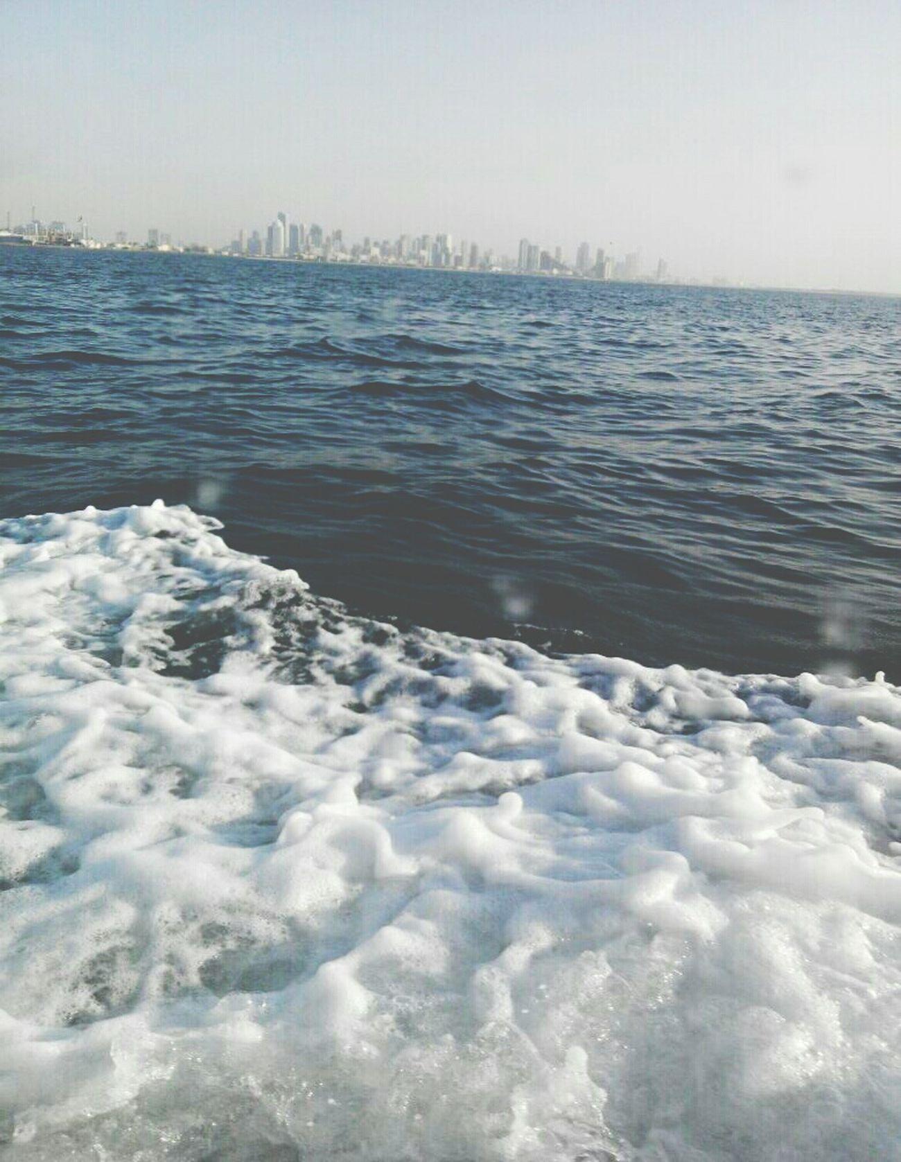View of Dubai from the yacht...??⛅?? Unitedarabemirates UAE Lifeinuae DXB Dubai Seaview