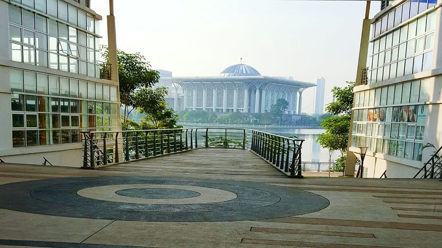 Politics And Government Government City Architecture Democracy No People Politics Outdoors Sky Day Mosque Putrajaya, Malaysia Religious Architecture