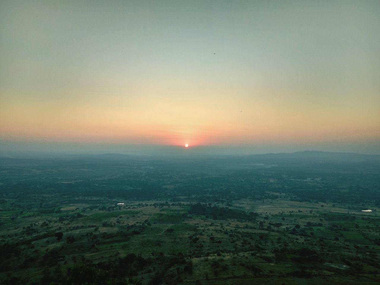 Sunset Nature India Karnataka