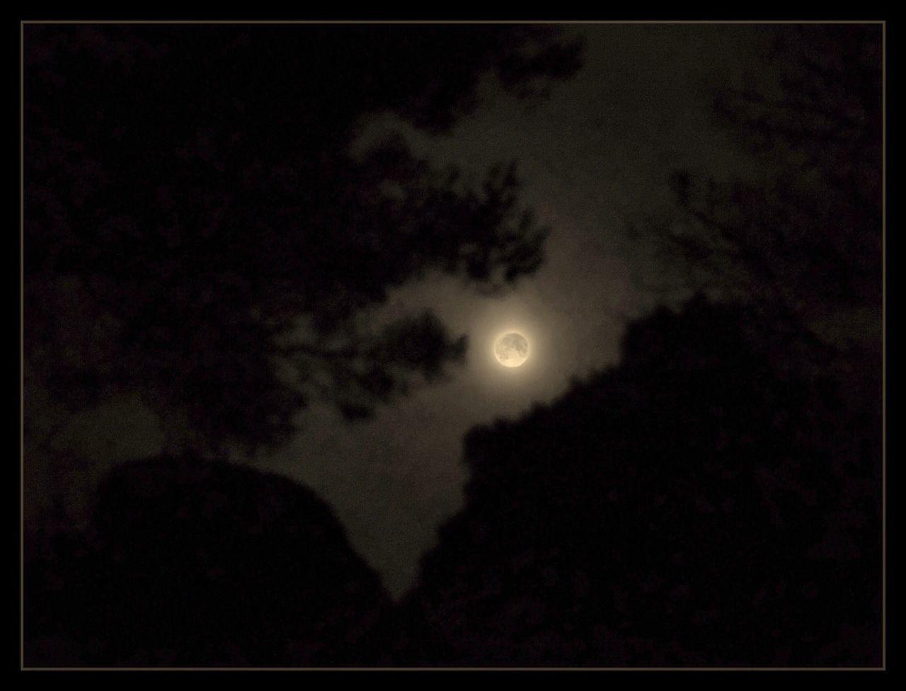 Skyfie CIELFIE Moon Sky Night Lune Beauty In Nature Astronomy Moonlight Pleine Lune Ciel