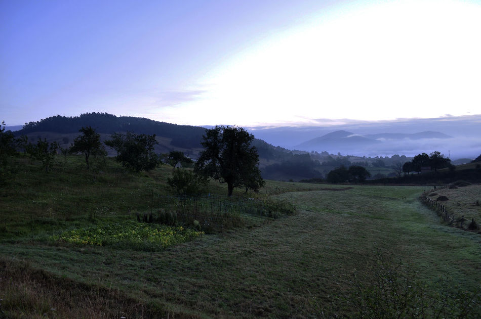 Asturias CaminodeSantiago Caminoprimitivo Campaign Hill Mañana Sunrise Tranquility