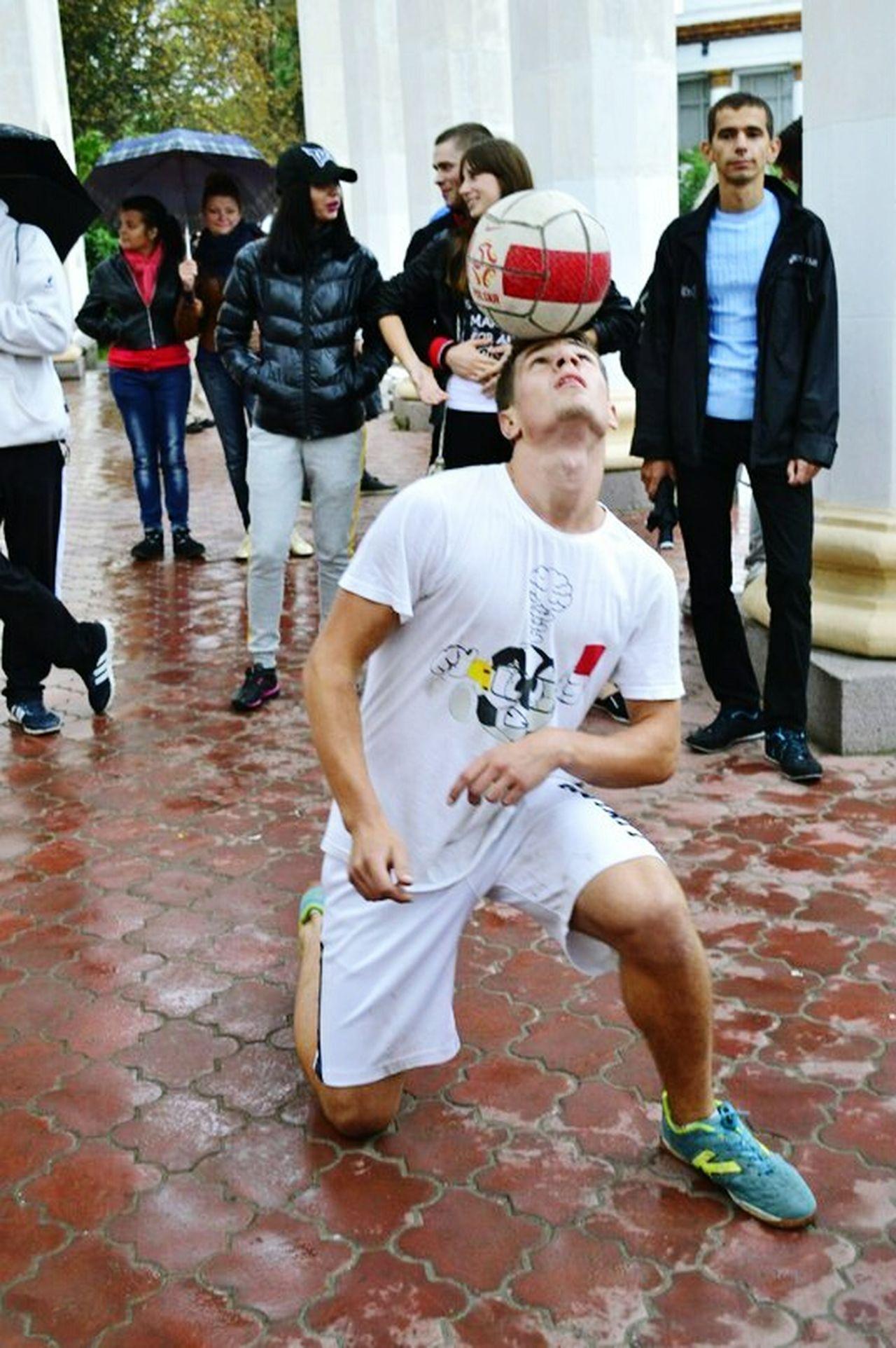 выступление футбол МастерКласс Киев Украина♥ шоу 433 Likeforlike Streetfootball Street Art Football Player First Eyeem Photo Like4like Master Class Skills  Show Football Freestyle