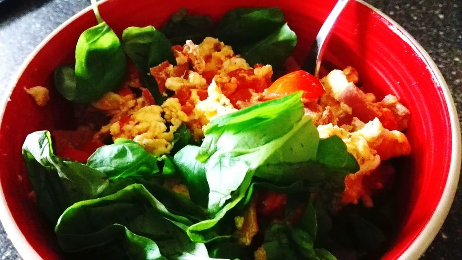 Show Us Your Takeaway! Scrumbleeggs Eggs... Scrumbled Egg Basil Yummy! I Am Hungry!!! Hungry! Mealtime Delicious ♡ Mmhhmm Taking Photos Check This Out Enjoying Life Things I Like Love To Eat Eat Pray Love April2016