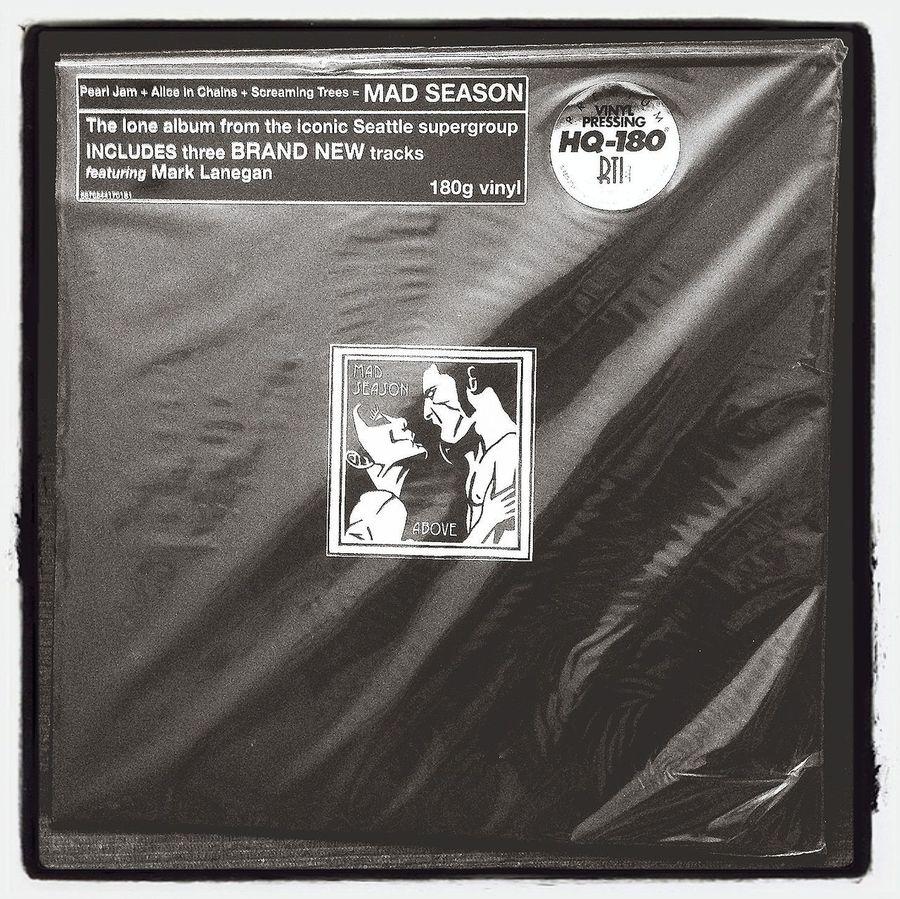 My new vinyl Vinyl Music Grunge Mad Season