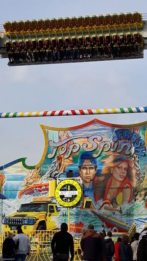 A Day At The Funfair - Attractions Relaxing Time Fresh Colors - Nice Day