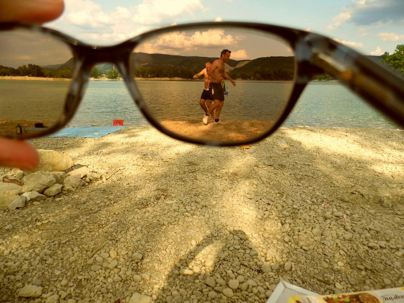 Croatia Zajarkilake Friends Fun Eyeglasses  Filter