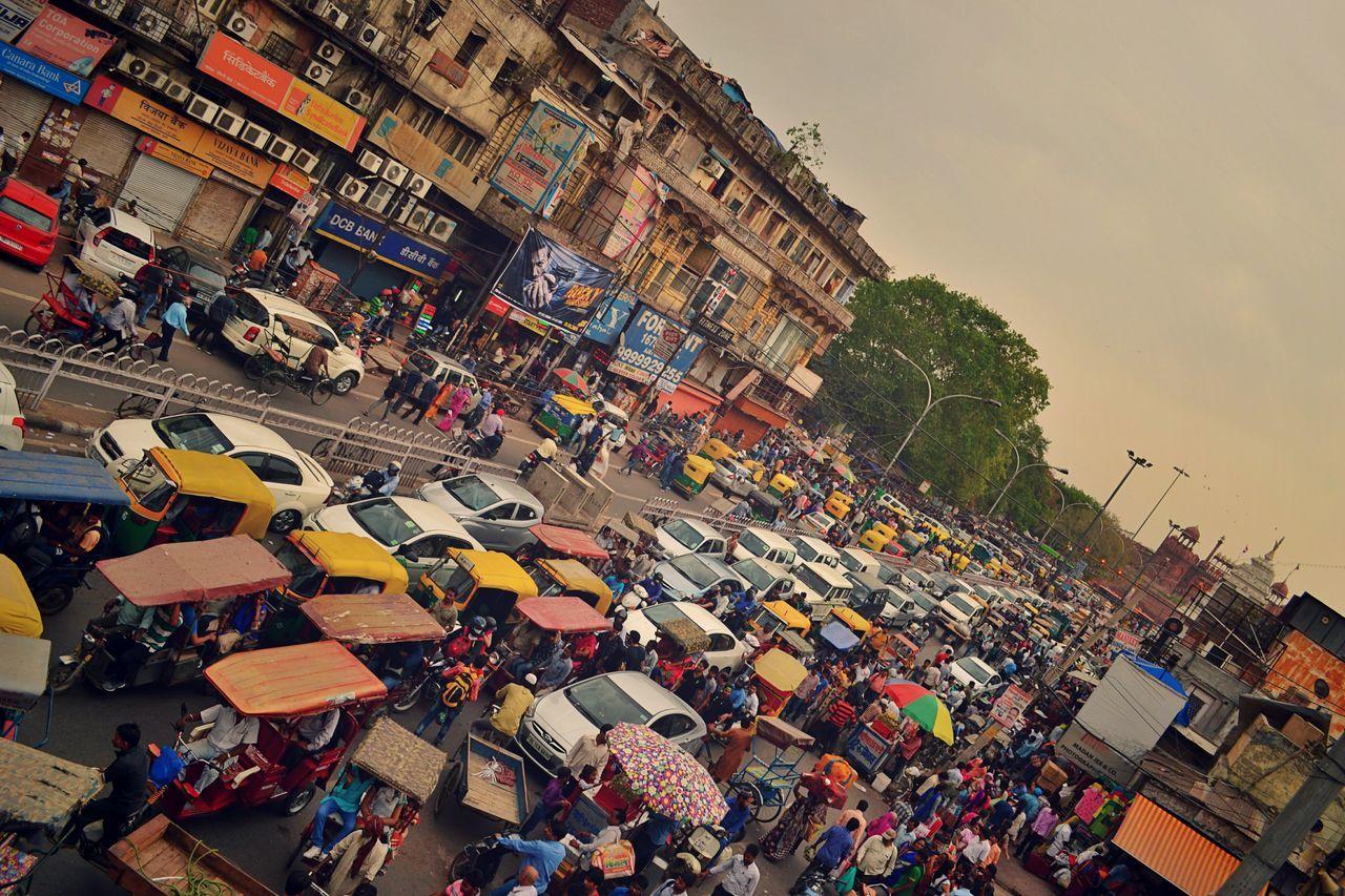 Traffic Traffic Jam Heavy Traffic Colors Road Olddelhi Redfort Chandnichowk Lifeonthefly Here Belongs To Me