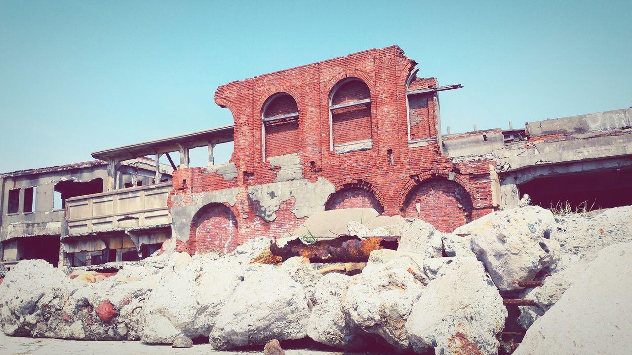 廃墟 軍艦島(gunkan-jima) First Eyeem Photo Ruins_photography Ruins Romans