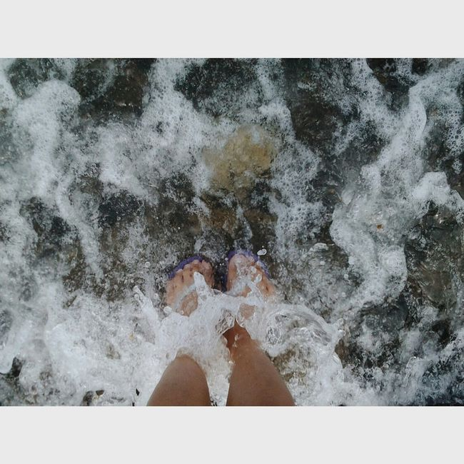 Waves Feet Freedom Connected With Nature From Where I Stand The Lonely Feet