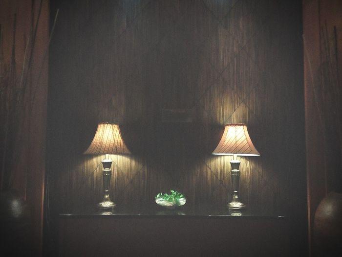 Twin light Indoors  Home Interior No People Luxury Lighting Equipment Dark Open Edit EyeEm Malaysia Phoneography Flamingohotel Flamingoho