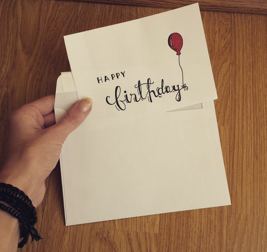 Lettering Calligraphy Moderncalligraphy Handwriting  Text Drawing - Art Product Writing Drawing - Activity Birthdaycard Happybirthday🎉💗🙌 Balloon Hand Handwritefont